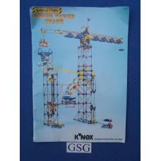 Knex power tower crane nr. 47149-03