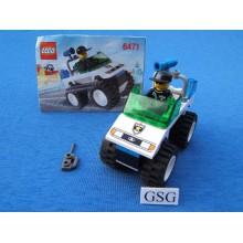 Lego city 4WD patrouille auto nr. 6471-02