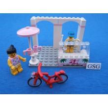 Lego system sidewalk cafe nr. 6402-02