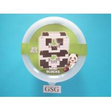 Miniblokjes bouwset panda / 8 nr. 13113-80