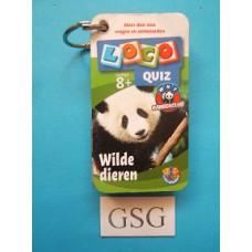 Loco quiz wilde dieren WNF nr. 25261-02