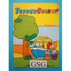 Tupperware kleurboek nr. 19000-01