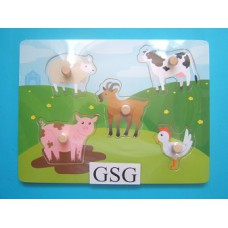 LegplankJe boerderijdieren nr. 608976-00