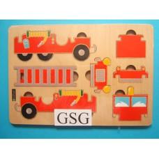 Legplankje brandweerauto nr. 330 111-00