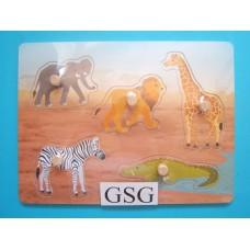 Legplankje dieren in het wild nr. 608983-00