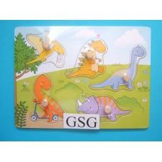Legplankje dinosaurussen nr. 608990-00