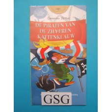 Geronimo Stilton de piraten van de zilveren kattenklauw CD luisterboek nr. 623885-00