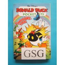 Donald Duck pocket 173 de ongeluksvogel nr. 3838-02