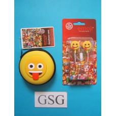 Oordopjes Emoji + opbergtasje nr. 50652-01