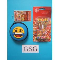 Oordopjes Emoji + opbergtasje nr. 50655-01