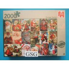 Vintage kerstmannen 2000 st nr. 81658-01