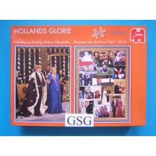 Koning Willem Alexander 2x 1000 st nr. 81232-03
