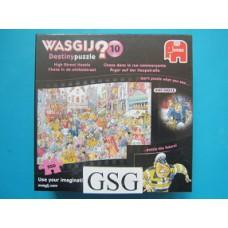 Wasgij destiny 10 (chaos in de winkelstraat) 950 st nr. 81530-01