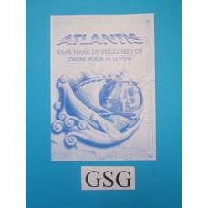 Atlantis handleiding nr. 14627NL0996-302