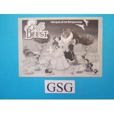 Belle en het Beest handleiding nr. 15865-302