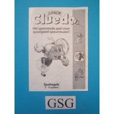 Cluedo junior handleiding nr. 14608 104-302