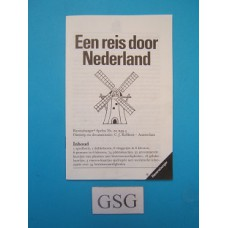 Een reis door Nederland handleiding nr. 01 055 4-302
