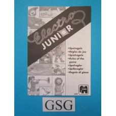 Electro junior handleiding nr. 609-302