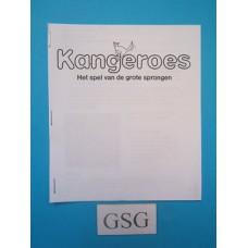 Kangeroes handleiding nr. 4109-LNL1185-303