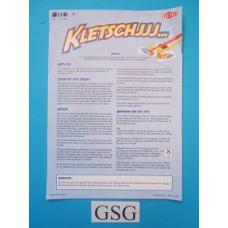 Kletschjjj... handleiding nr. 01446-302