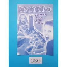 Knotsgekke Knikkers handleiding nr. 0304 00485 104-302