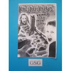 Knotsgekke Knikkers handleiding nr. 0304 00485 104-303