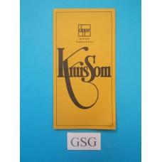 Kruissom handleiding nr. 190051-302