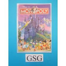 Monopoly Disney handleiding nr. 0202 19631 104-302