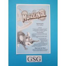Muizenval handleiding nr. 1099 14532 104-302