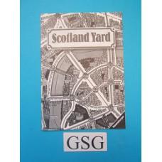 Scotland Yard handleiding nr. 01 158 2-302