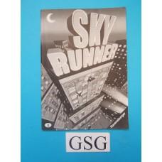 Sky runner handleiding nr. 26 212 0-302