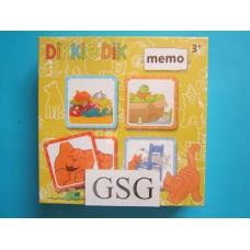 Dikkie Dik memo nr. 52015-00