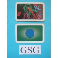 Stemkaart blauw nr. 61144-02
