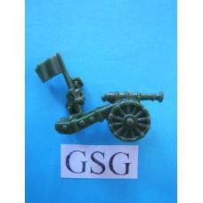 Artillerist leger groen (10) nr. 61180-02