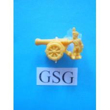 Artillerist oker geel (10) nr. 61159-02