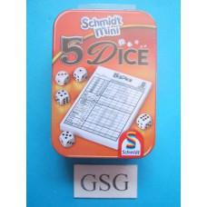 Vijf dice mini nr. 88180-00