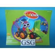 Kid knex fun wheels rovin' rollers bouwvoorbeeld nr. 85195-303