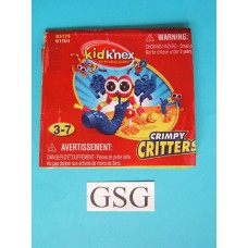 Kid knex crimpy critters bouwvoorbeeld nr. 85175-302