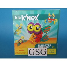 Kid knex fish-eyed friends bouwvoorbeeld nr. 85130-303