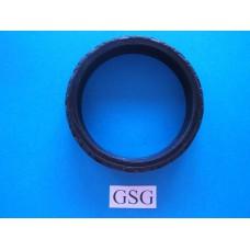 Motorfiets band 60 mm zwart nr. 16115