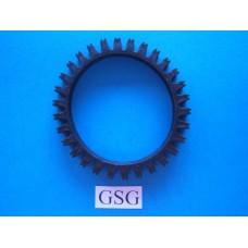Rupsband 65 mm zwart nr. 16122