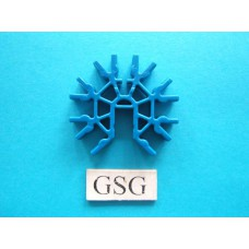 Connector blauw nr. 16424