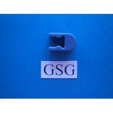 Connector borg zonder pen blauw metallic nr. 16027
