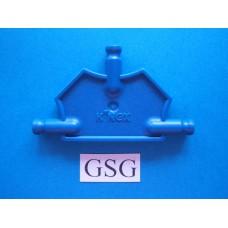 Driehoekplaat 55 mm blauw nr. 16055