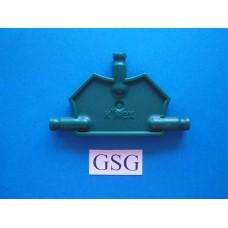 Driehoekplaat 55 mm groen nr. 16057