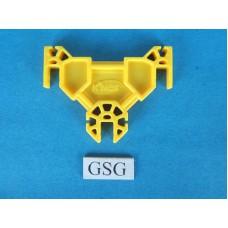Adapterplaat geel nr. 16407