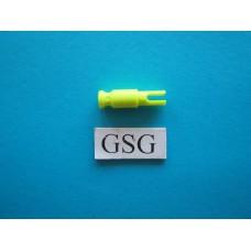 As met clip geel fluoriserend nr. 16249