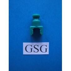 Scharnierkoppeling recht groen nr. 16091