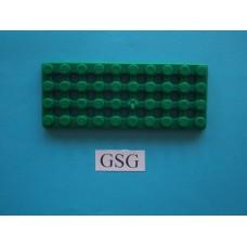 Grondplaat 10x4 (F2) groen nr. 16236