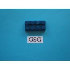 Grondplaat 4x2 (F1) blauw nr. 16330